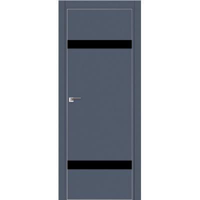 Дверь Антрацит №3 E черный лак 2000*800 (190) кромка с 4-х сторон матовая Eclipse