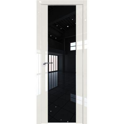 Дверь Магнолия люкс №8 L триплекс черный 2000*800
