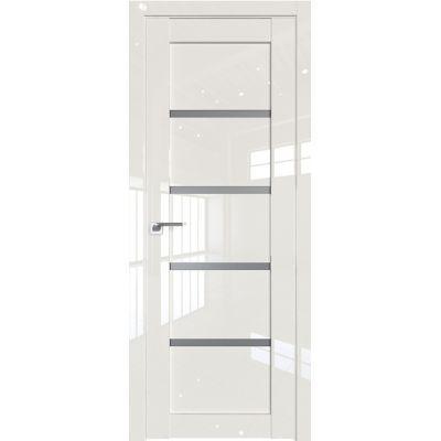 Дверь Магнолия люкс №2.09 L стекло графит 2000*800