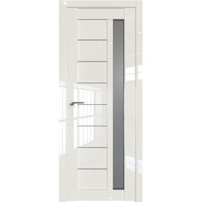 Дверь Магнолия люкс №37 L стекло графит 2000*800