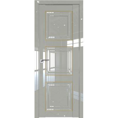 Дверь Галька люкс золото №96 L 2000*800 золото