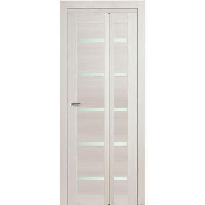 Дверь ЭшВайт Мелинга 7X матовое складная 2000*500*300 Т1 (190)