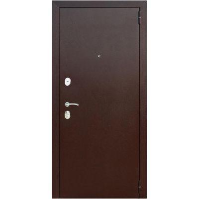 Дверь мет.Гарда 8мм Рустикальный дуб (860мм) правая