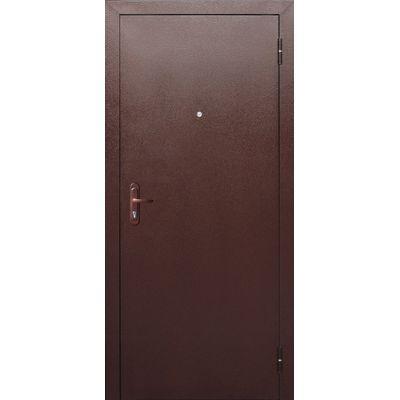 Дверь мет. Стройгост 5 РФ Рустикальный дуб (860мм) правая