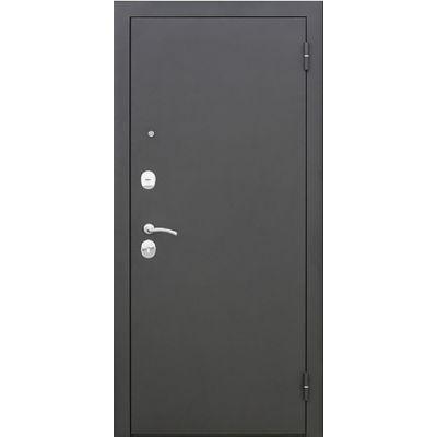 Дверь мет. Царское зеркало муар Венге (860мм) правая