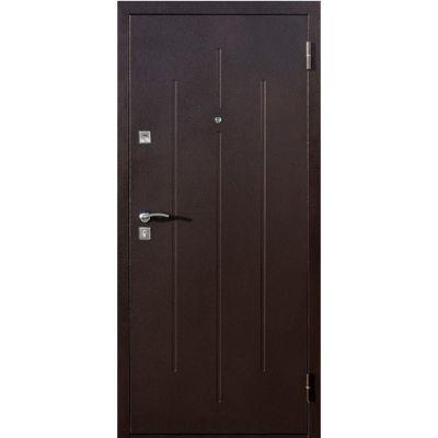 Дверь мет. Стройгост 7-2 Итальянский орех (860 R)