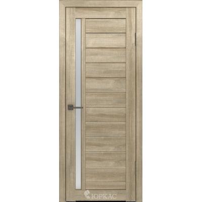 Дверное полотно GLLight 9 800*2000 дуб мокко бел.сат. (Ю)