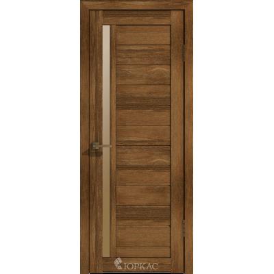Дверное полотно GLLight 9 800*2000 дуб корица брон.сат. (Ю)