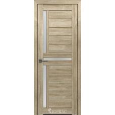Дверное полотно GLLight 16 800*2000 дуб мокко бел.сат. (Ю)