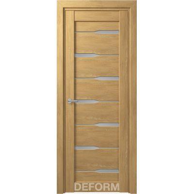 Дверное полотно DEFORM D4 ПО 35*800*2000 (Дуб Шале Натуральный)