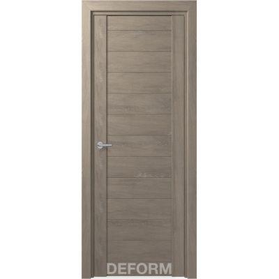 Дверное полотно DEFORM D10 ПГ 35*800*2000 (Дуб Шале Седой)