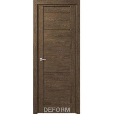 Дверное полотно DEFORM D10 ПГ 35*800*2000 (Дуб шале Корица)