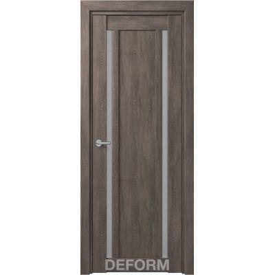 Дверное полотно DEFORM D13 ПО 35*800*2000 (Дуб шале графит)