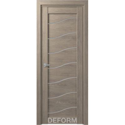 Дверное полотно DEFORM D2 ПО 35*800*2000 (Дуб Шале Седой)