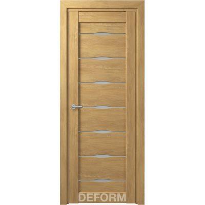 Дверное полотно DEFORM D3 ПО 35*800*2000(Дуб Шале Натуральный)