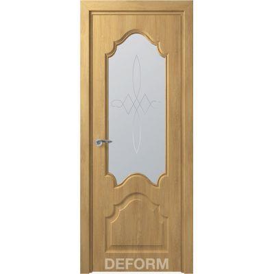 Дверное полотно Скиновая классика Тулуза ПО 40*800*2000 (Дуб Шале Натуральный Сатинато с рисунком)