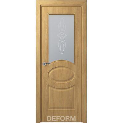 Дверное полотно Скиновая классика Прованс ПО 40*800*2000 (Дуб Шале Натуральный Сатинато с рисунком)