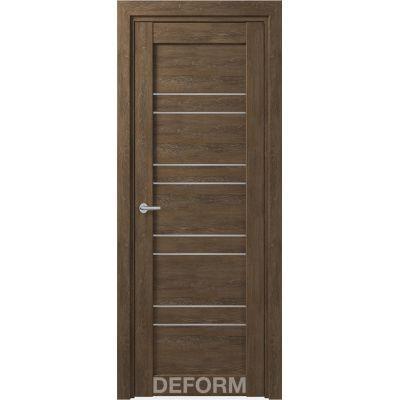 Дверное полотно DEFORM D15 ПО 35*800*2000 (Дуб Шале Корица)