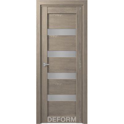 Дверное полотно DEFORM D16 ПО 35*800*2000 (Дуб Шале Седой)