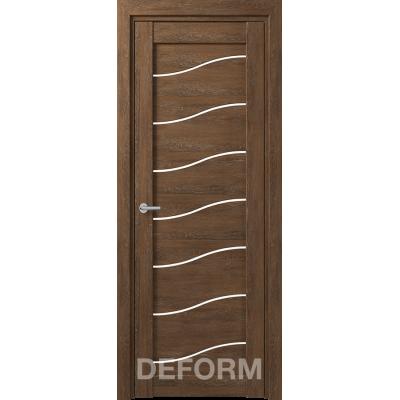 D2 DEFORM ДО белый лак 800*2000 Дуб шале корица