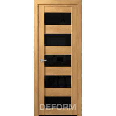D12 DEFORM ДО черный лак 800*2000 Дуб шале натуральный