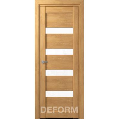 D16 DEFORM ДО белый лак 800*2000 Дуб шале натуральный