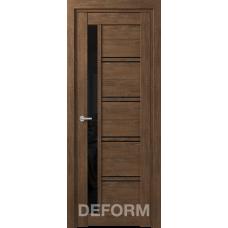 D19 DEFORM ДО черный лак 800*2000 Дуб шале корица