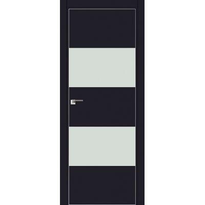 10E белый лак 800*2000 Черный матовый хром с 4-х сторон