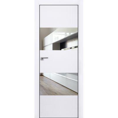 10E зеркало 800*2000 Аляска хром черная с 4-х сторон