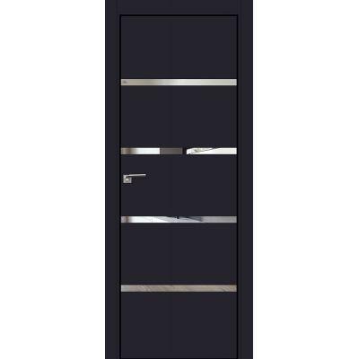 20E зеркало 800*2000 Черный матовый хром черная с 4-х сторон