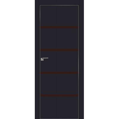 20E коричневый лак 800*2000 Черный матовый хром с 4-х сторон