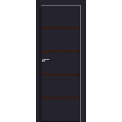 20E коричневый лак 800*2000 Черный матовый матовая с 4-х сторон