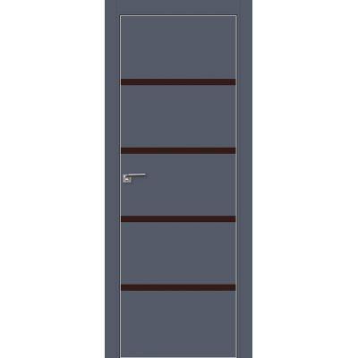 20E коричневый лак 800*2000 Антрацит матовая с 4-х сторон