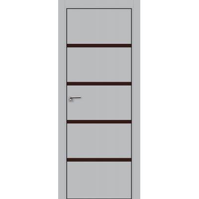 20E коричневый лак 800*2000 Манхэттен хром черная с 4-х сторон