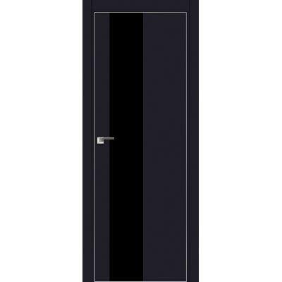 5E черный лак 800*2000 Черный матовый хром с 4-х сторон