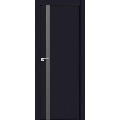 6E серебряный мат.лак 800*2000 Черный матовый хром с 4-х сторон