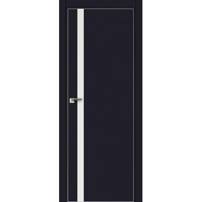 6E белый лак 800*2000 Черный матовый хром с 4-х сторон
