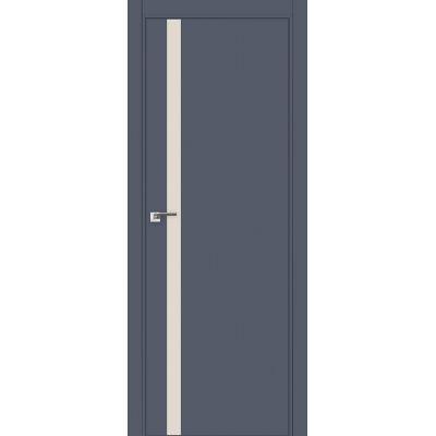 6E (ABS) перламутровый лак 800*2000 Антрацит кромка в цвет
