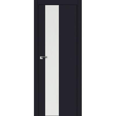 5E (ABS) белый лак 800*2000 Черный матовый кромка в цвет
