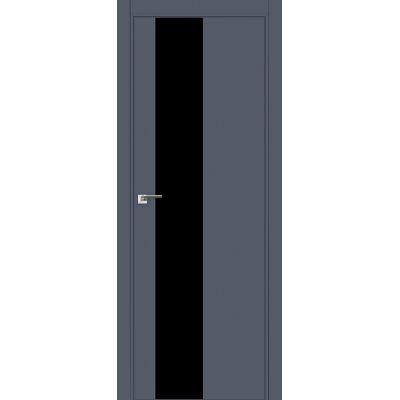 5E (ABS) черный лак 800*2000 Антрацит кромка в цвет