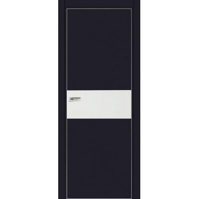 4E белый лак 800*2000 Черный матовый хром с 4-х сторон