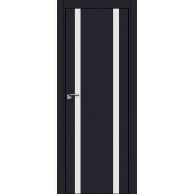 9E белый лак 800*2000 Черный матовый хром черная с 4-х сторон