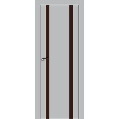 9E коричневый лак 800*2000 Манхэттен хром черная с 4-х сторон