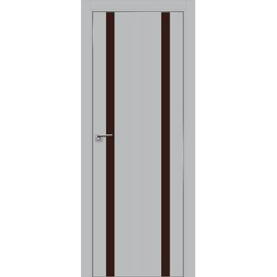 9E коричневый лак 800*2000 Манхэттен хром с 4-х сторон