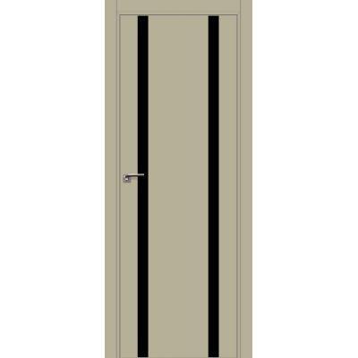 9E (ABS) черный лак 800*2000 Шеллгрей кромка в цвет