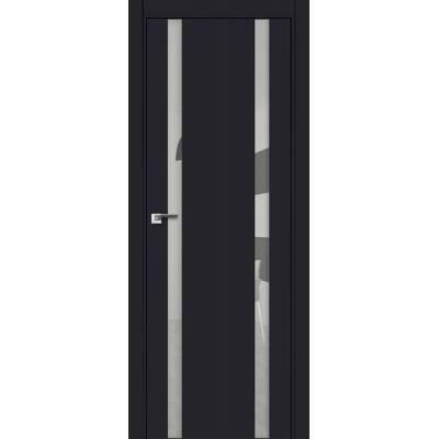 9E (ABS) зеркало 800*2000 Черный матовый кромка в цвет