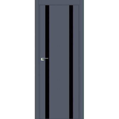 9E (ABS) черный лак 800*2000 Антрацит кромка в цвет