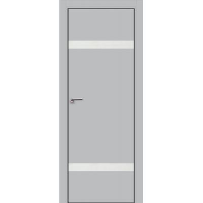 3E белый лак 800*2000 Манхэттен хром черная с 4-х сторон