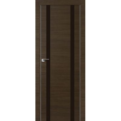 9Z коричневый лак 800*2000 Малага черри кроскут хром с 2-х сторон