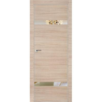 3Z зеркало 800*2000 Капучино кроскут матовая с 4-х сторон